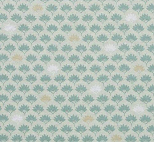 Decostoffen Bladeren - ottoman print