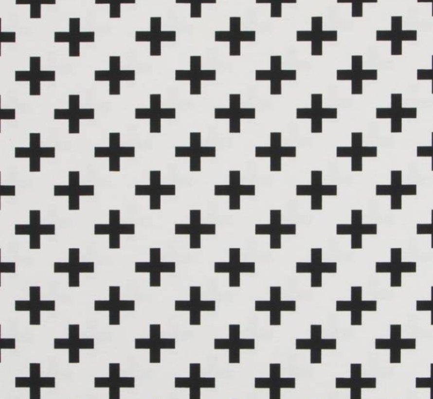 Kruisjes - ottoman print