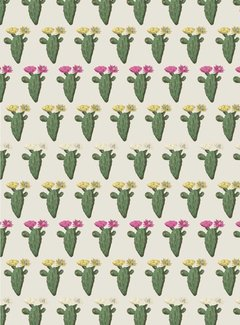 Cactus / planten - jacquard