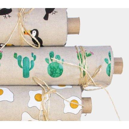 Linnenlook stof online kopen bij decostoffen