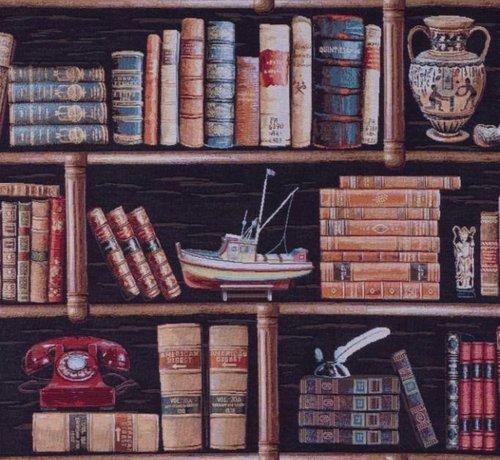 Decostoffen Boekenkast 2 - gobelin