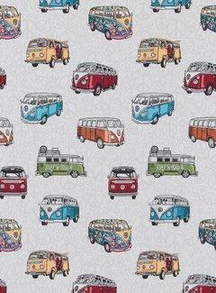Volkswagen bus jacquard