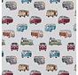 Volkswagen bus jacquard op meubelstof