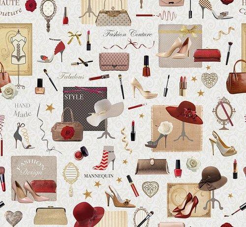 Decostoffen Vrouwen accessoires jacquard meubelstof