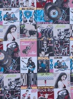 Rock & roll platen jacquard