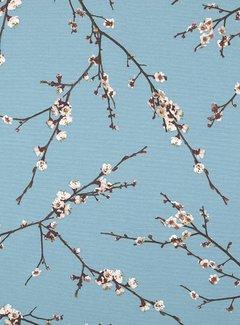 Japanse bloesem - ottoman print