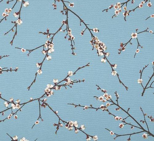 Decostoffen Japanse bloesem - ottoman print