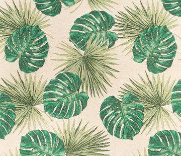 Decostoffen Palmbladeren - gobelin economy