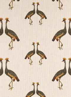 Kraanvogels linnenlook