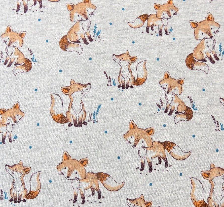 Fox licht grijs - alpen sweat