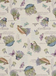 Lavendel bloemen - gobelin