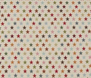 Multi color sterren klein - gobelin