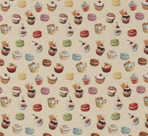 Decostoffen Cupcakes - gobelin
