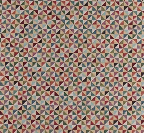 Decostoffen Geometrisch multi color - gobelin