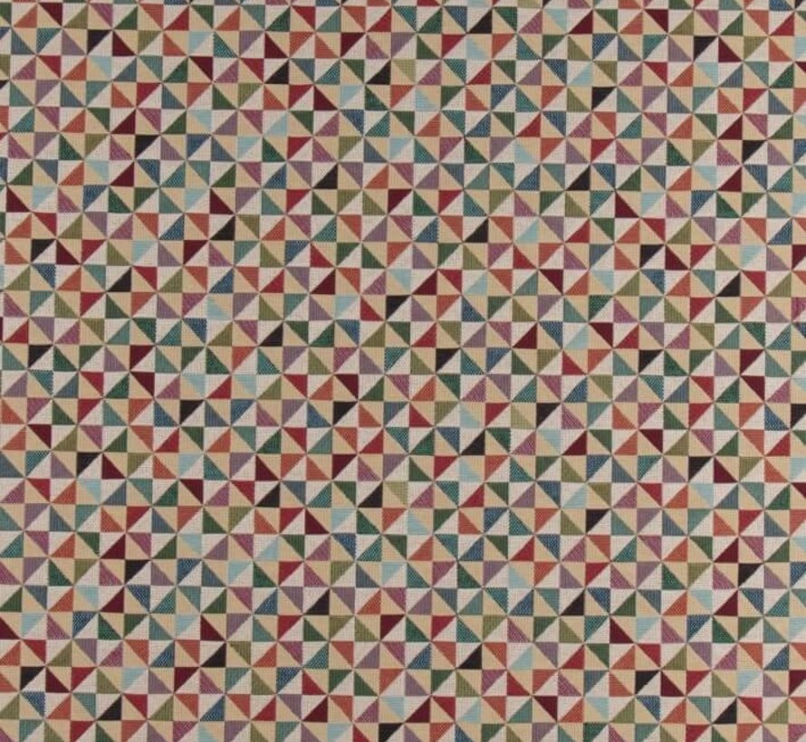 Geometrisch multi color - gobelin