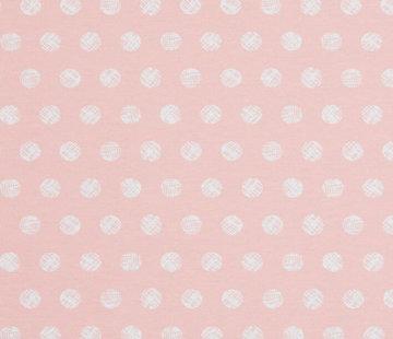 Decostoffen Pastel dots - ottoman print