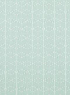 Geometrisch pastel - ottoman print