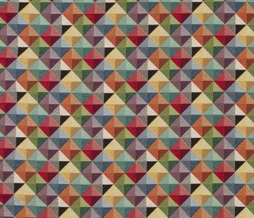 Geometrisch multi color klein - gobelin