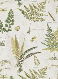 Natuur planten - ottoman print