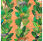 Jungle oranje - outdoor