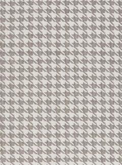 Decostoffen Pied de poule grijs - outdoor