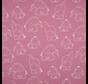 Olifanten oud roze tricot stof