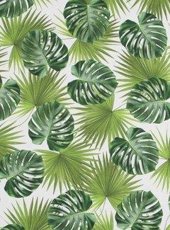 Decostoffen Palmbladeren - digitale print