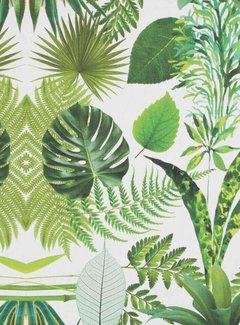 Decostoffen Palmbladeren digitale print