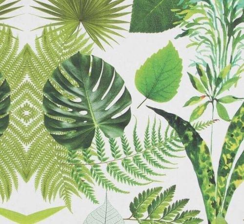 Decostoffen Palmbladeren digitale print stof