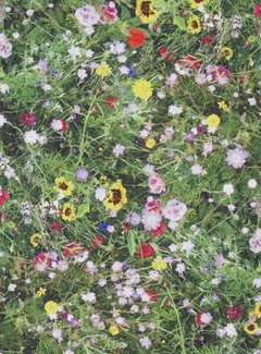Bloemen gras digitale print