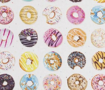 Decostoffen Donuts digitale print