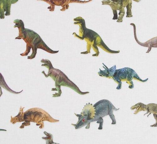 Decostoffen Dinosaurus digitale print stof