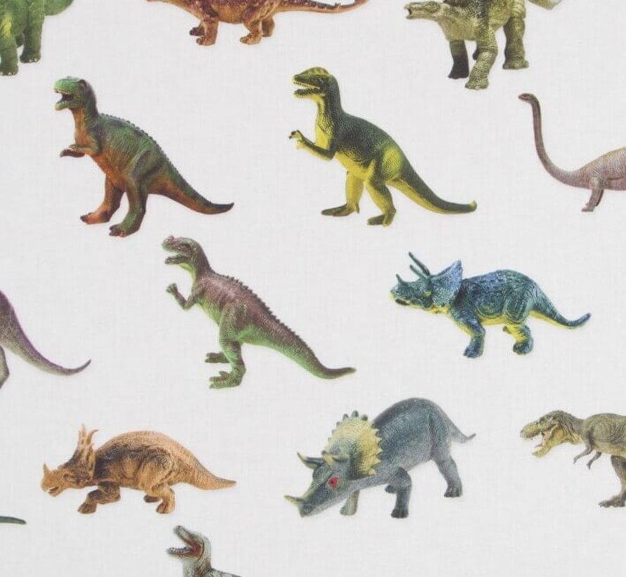 Dinosaurus digitale print stof