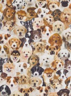 Decostoffen Honden digitale print