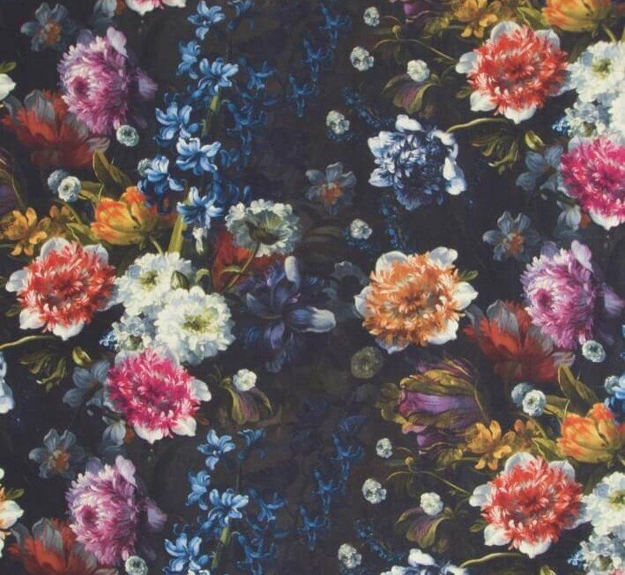 Bloemen patroon digitale print stof