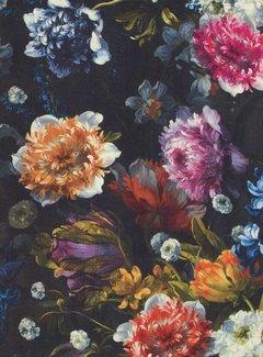 Decostoffen Gekleurde bloemen digitale print