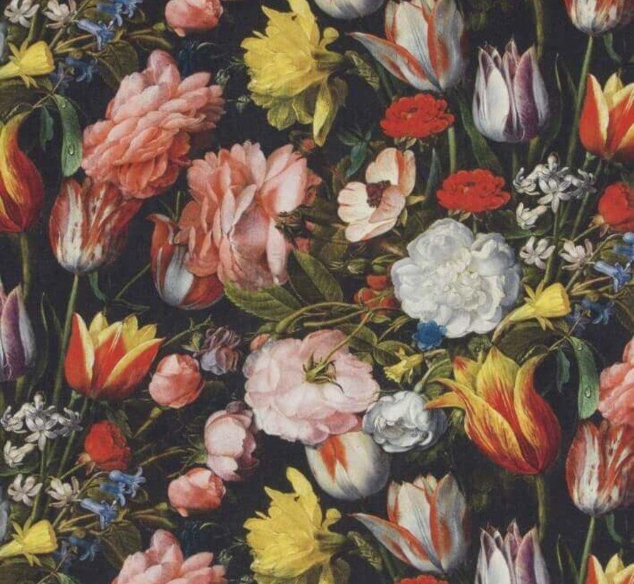 Bloemen digitale print stof