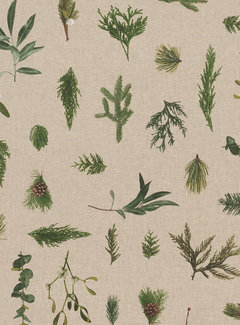 Decostoffen Planten linnenlook