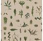 Planten linnenlook stof