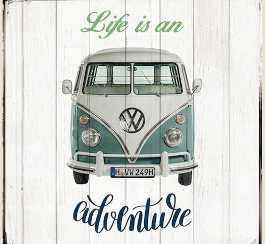 Volkswagen life is an adventure kussenpanel