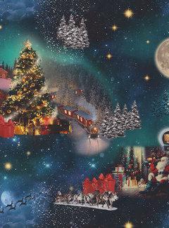 Kerstmis digitale print