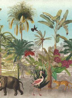 Decostoffen Botanische dierenprint digitale print