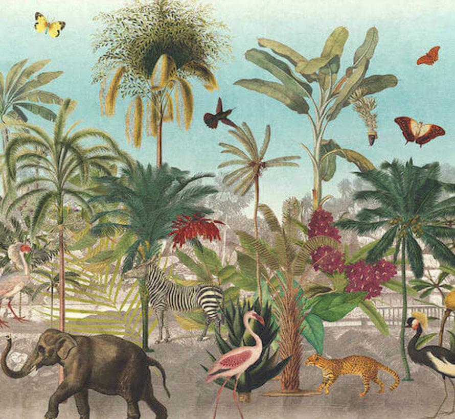Botanische dierenprint digitale print