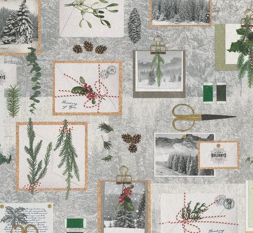 Decostoffen Kerst print digitale print stof