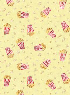 Decostoffen Popcorn digitale print