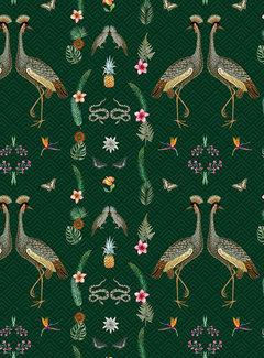 Kraanvogel digitale print