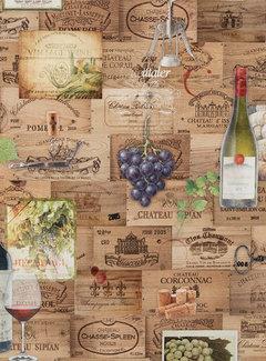 Wijn etiketten digitale print