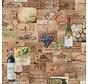 Wijn etiketten digitale print stof