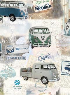 Volkswagen bus digitale print