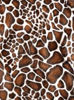 Decostoffen Giraffe velboa